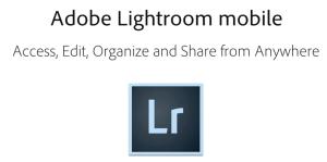 Lightroom mobile