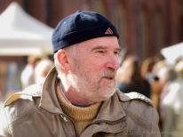 Ukraiņu tēlnieks un keramiķis Orests Misjko, kurš dzīvo Rīgā un ražo skaistus traukus