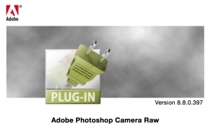 Adobe Camera RAW 8.8