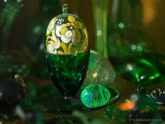 Stikla olas