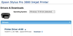 StylusPro3880-driver