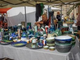 Miķeļdienas gadatirgus. Leonīds Kupčs un viņa keramika.
