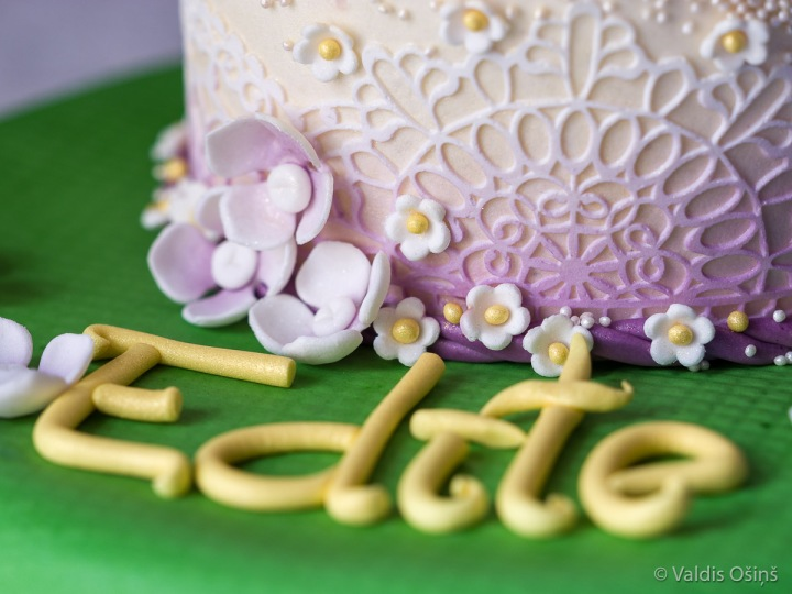 Inguna Sudraba, torte Edītei Pauls Vīgnerei