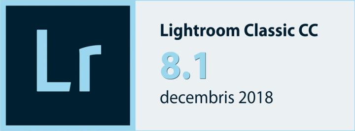 Lightroom Classic CC8.1
